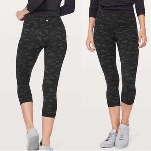 Lululemon align sequoia camo crop pants 8 leggings